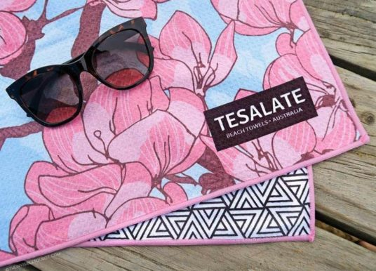 Tesalate Sand-Free Beach Towel | Out There Outdoors